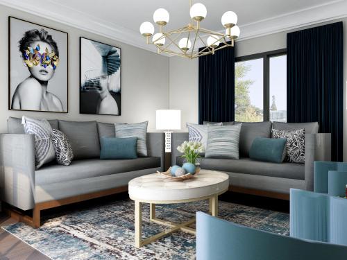 Virtual-Rendering-Living-Room